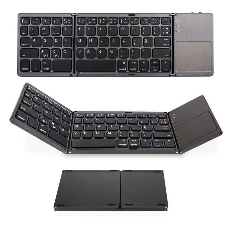 Складная Bluetooth клавиатура