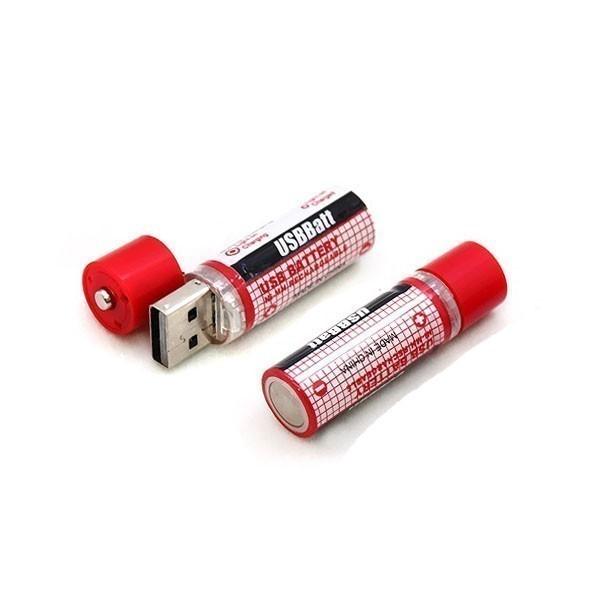 Аккумуляторные USB батарейки