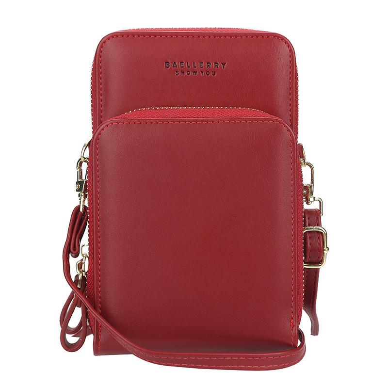 Женская сумка-портмоне Baellerry, красный фото