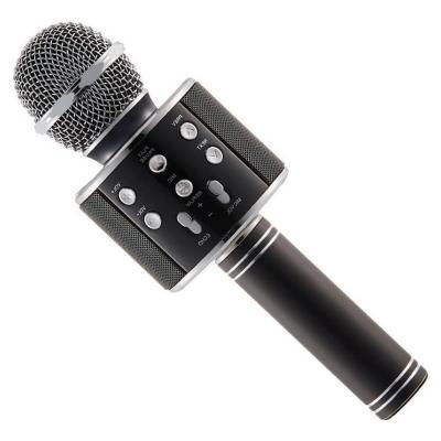 Караоке микрофон ws-858 черныйОстальные гаджеты<br>Любите петь, но не готовы часто посещать караоке бары? Выход есть! Посмотрите.революционный караоке микрофон ws-858. Теперь вы сможете наслаждаться любимыми песнями совершенно в любых условиях!Подарите себе и своим близким настоящий праздник и море позитива!<br>