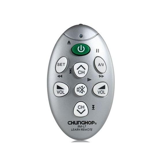 Обучаемый универсальный мини пульт RM-L7Остальное<br>В каждой комнате вашего дома имеется телевизор? Тогда вы точно оцените по достоинству обучаемый универсальный мини пульт RM-L7. Это изделие заменит вам ряд прошлых моделей, а главное – отличается простотой в эксплуатации!<br>