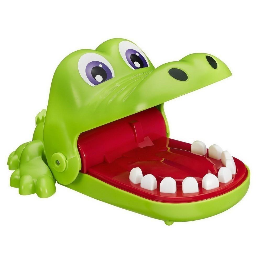 Игрушка Зубастик - Crocodile DentistНастольные игры<br>Как повеселиться компании детей в домашних условиях? Море смеха, массу положительных эмоций и часы веселья подарит игрушка зубастик Crocodile Dentist. Игроки по очереди должны нажимать на зубки крокодильчика. Победит самый ловкий!<br>