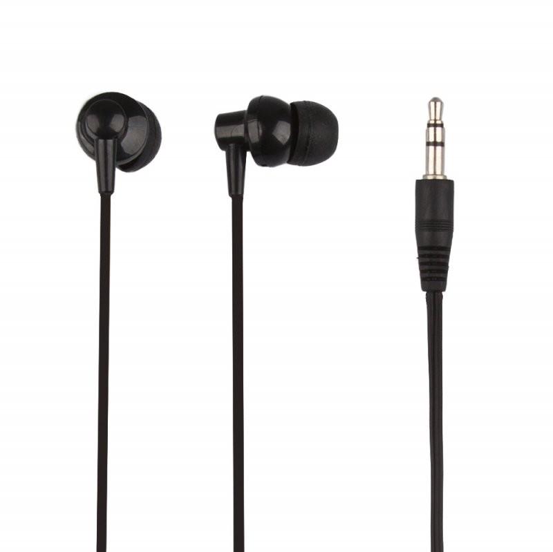 Наушники «LP» для MP3 плееров разъем 3,5 мм. (вакуумные) черные