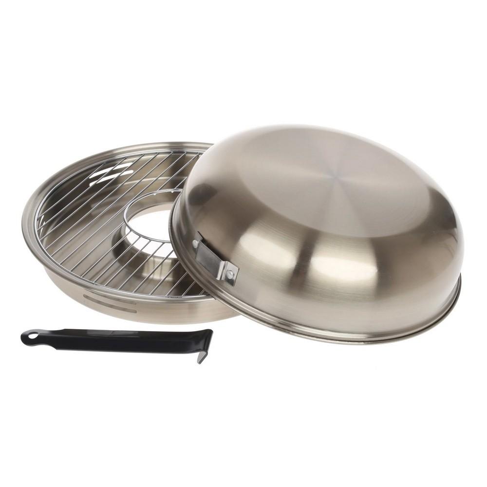 Сковорода D-505 Гриль-газ нержавейка антипригарное покрытие