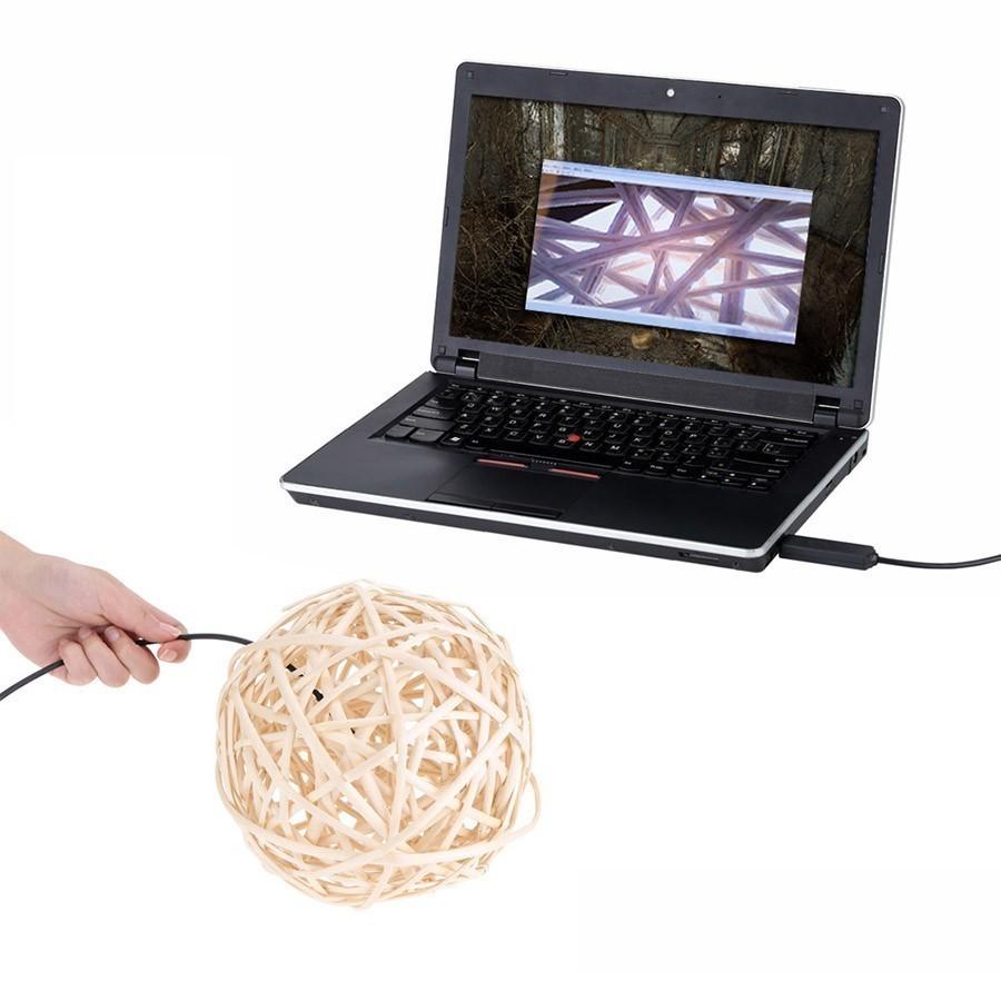 Камера  - гибкий эндоскоп USB, 2м, PC