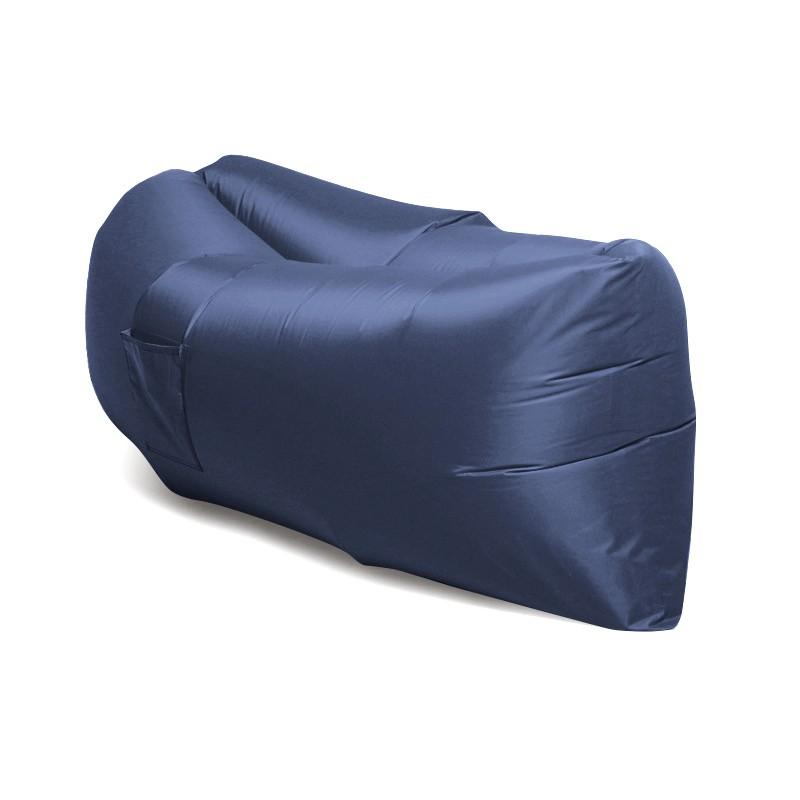 Надувной диван Биван - гамак Ламзак, темно-синийРазное для туриста<br>Надувной диван - гамак Ламзак – это изобретение, которое подарит вам часы релакса дома, в офисе, на даче, на природе и в любых других условиях. Эта модель завоевала мир. Надувается диван-шезлонг самостоятельно всего за 14 секунд, а главное – отличается своей прочностью и удобством!<br>