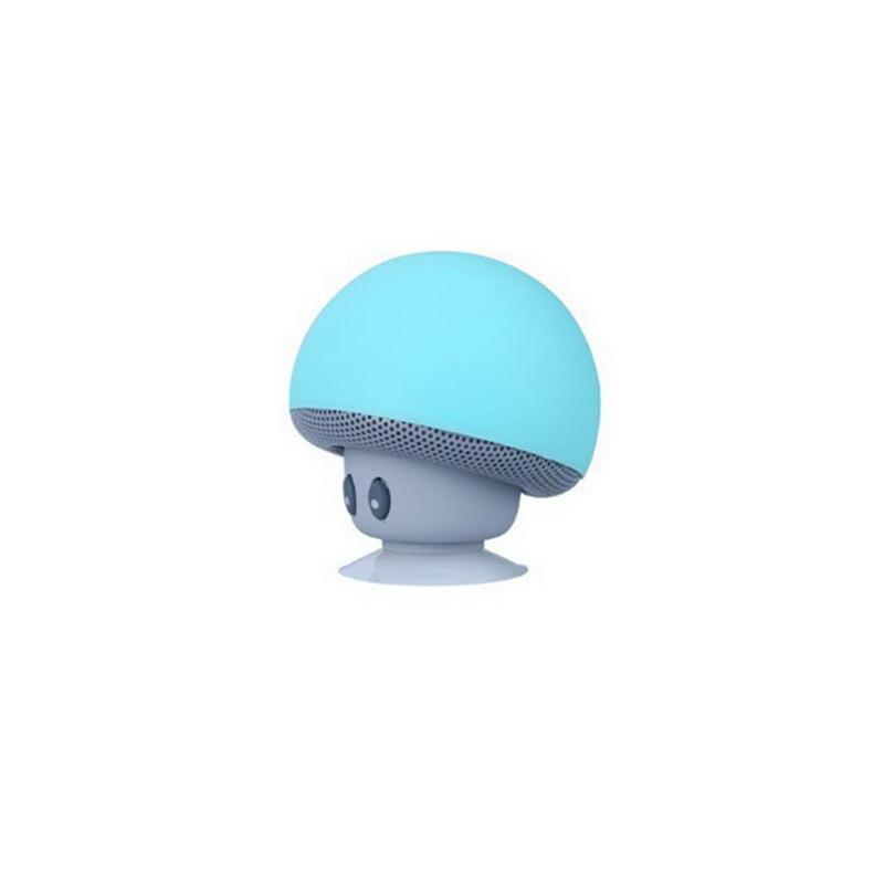 Беспроводной динамик для телефона Грибок, Голубой фото