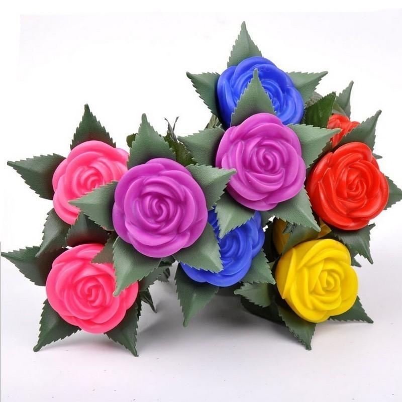 Светодиодный светильник «Бутон розы»
