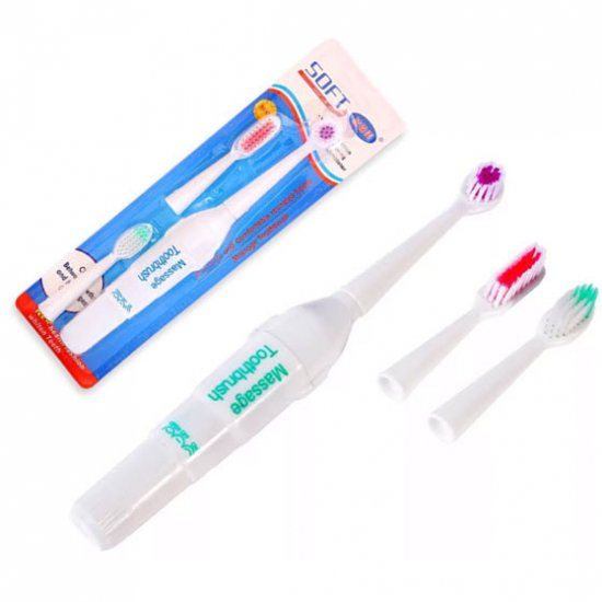 Электрическая зубная щётка 3 В 1 Massage Toothbrush