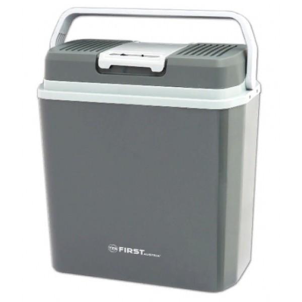 Автохолодильник FIRST 5170-4 , 24 л, 220В/12В охлаждение -18 гр. ниже окружающей среды, нагрев до 65 гр., серый