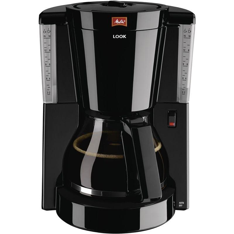 Кофеварка Look IV, черный MELITTA 20983Кофеварки и кофемашины<br>LOOK Великолепный кофе. Кофейное наслаждение это не только эстетика вкуса, но и эстетика внешнего вида. Melitta LOOK в новом дизайне дает вам все, чего вы желаете.<br>