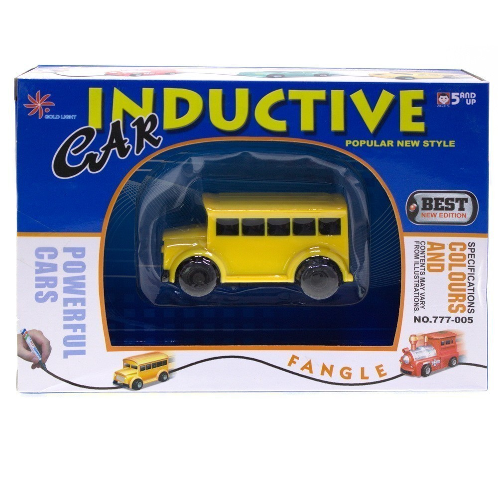 Игрушка индуктивная машинка Inductive CarОстальные игрушки<br>Не знаете, чем удивить своего сына? Ребенку наскучили треки с машинками и прочие игры? Вы просто обязаны познакомить его с чудесами, исходящими от индуктивной машинки Inductive Car. Теперь можно просто начертить путь автомобилю, чтобы он начал движение!<br>