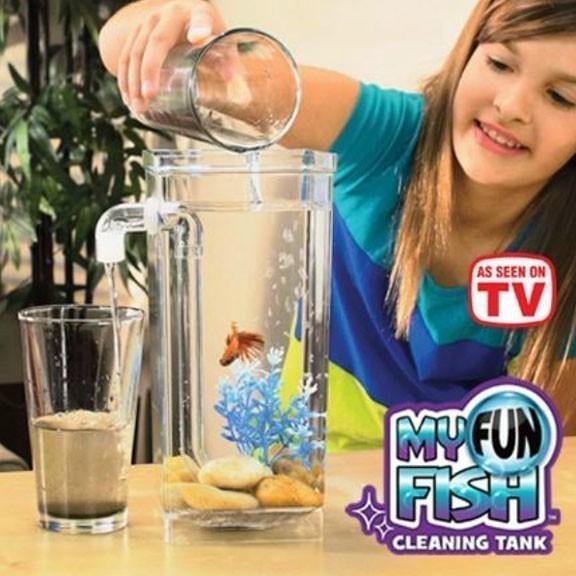 Самоочищающийся аквариум - My Fun Fish фото