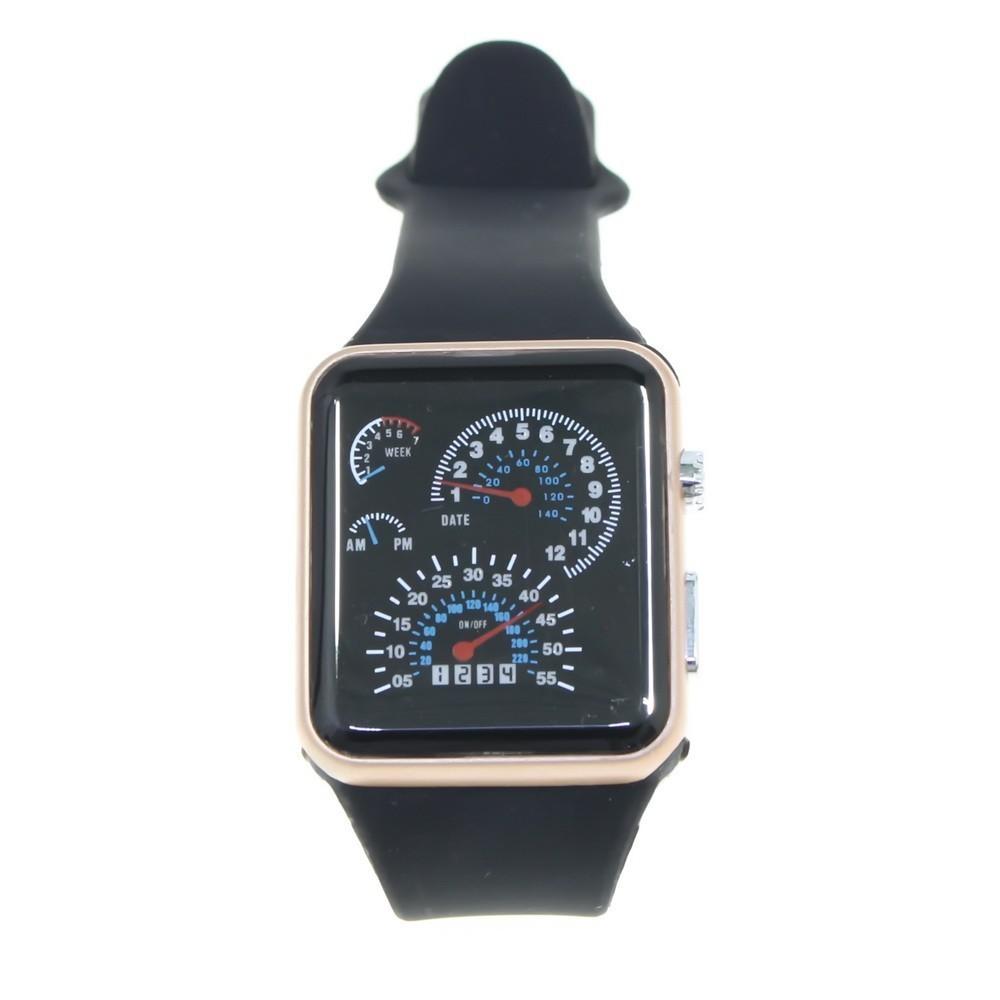 Часы Street Racer в строгом прямоугольном корпусе фото