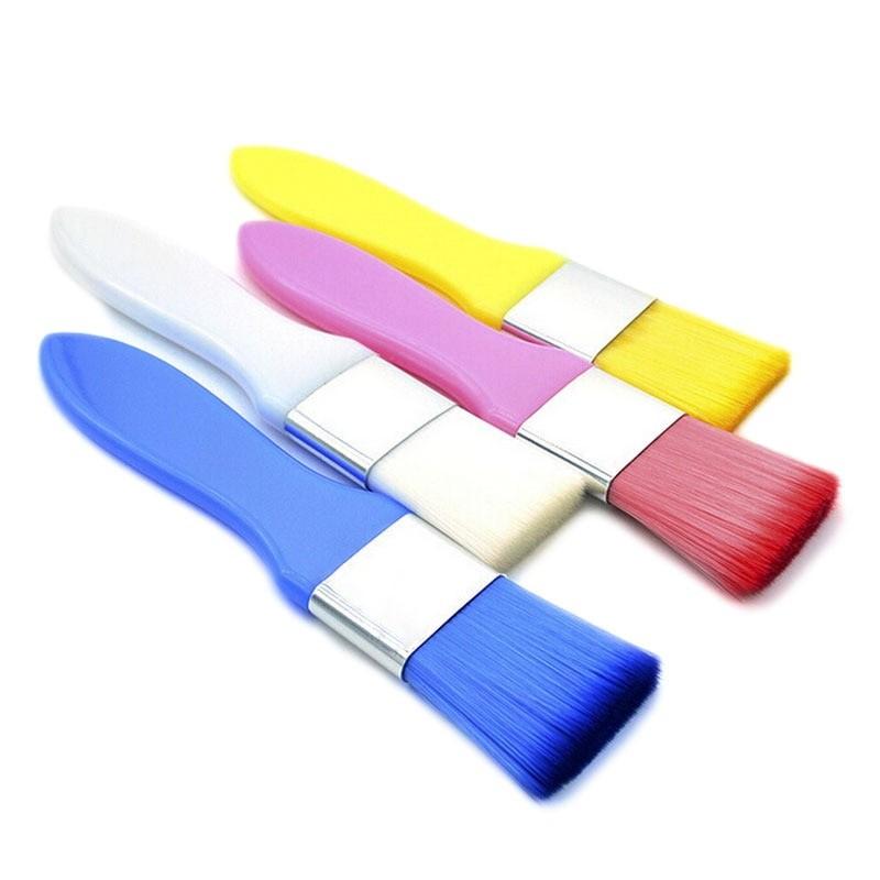 Кисть-щётка для нанесения масок, цвет микс