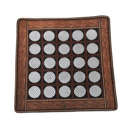 Нефритовый коврик — квадрат большие камни, 43х43 см