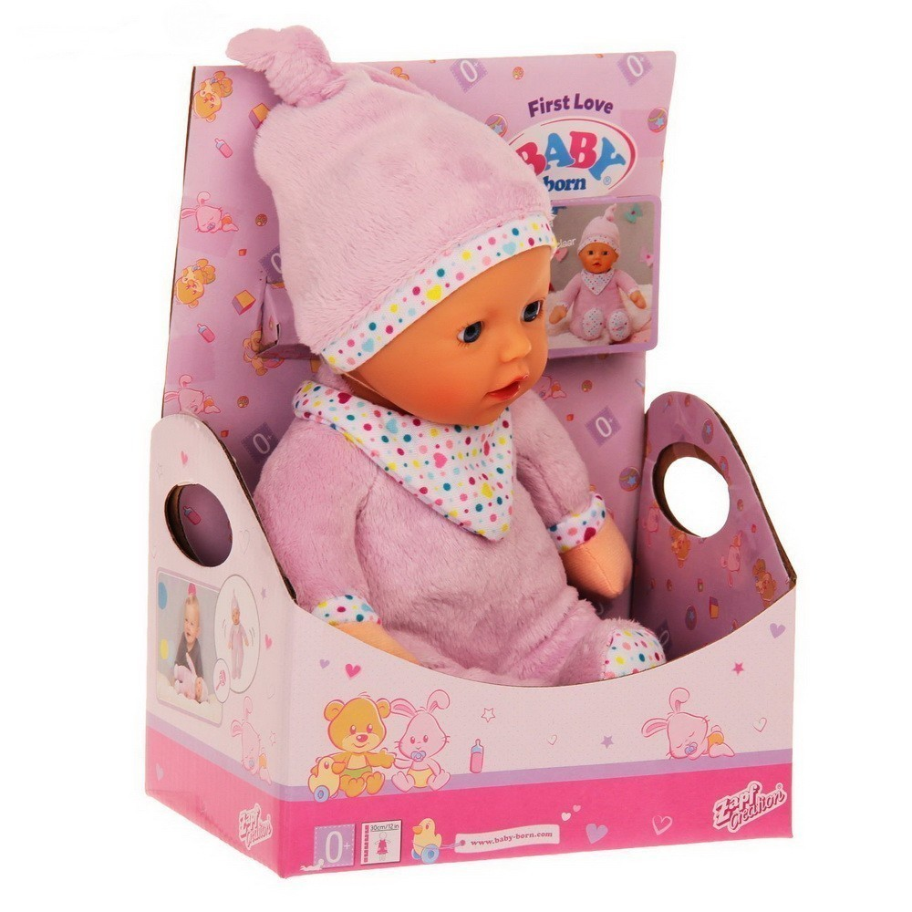 Кукла — Первая любовь, Baby born мягкая с твердой головой