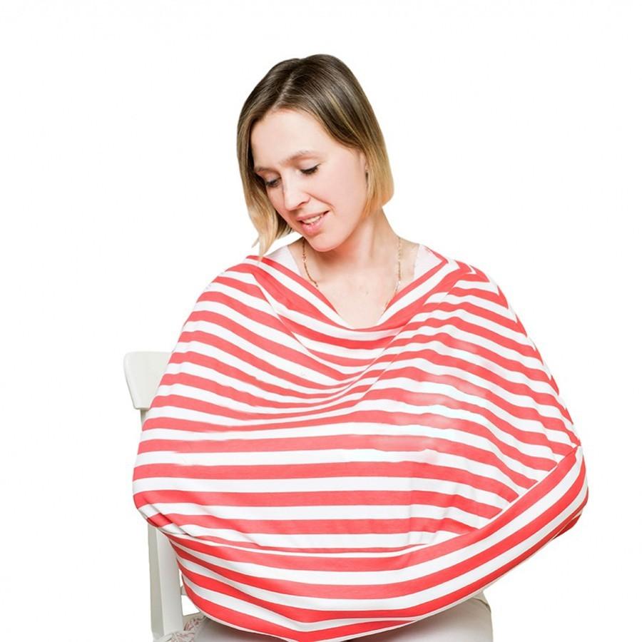 Накидка для кормления ребенка на улице, полоскаДля малышей<br>Накидка для кормления ребенка на улице станет настоящей находкой для каждой современной мамы. Изделие выполнено из экологически чистых материалов, потому является совершенно безопасным для малыша. А главное – ребенок всегда будет чувствовать материнское тепло!<br>