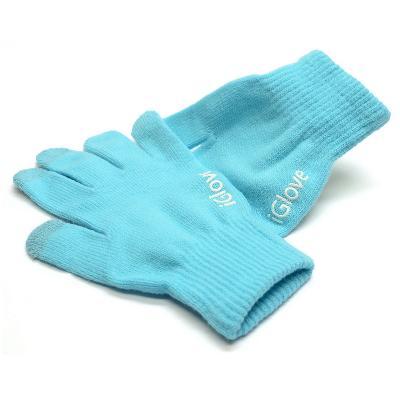 Купить со скидкой Перчатки iGlove для работы с емкостными экранами (цвет голубой)