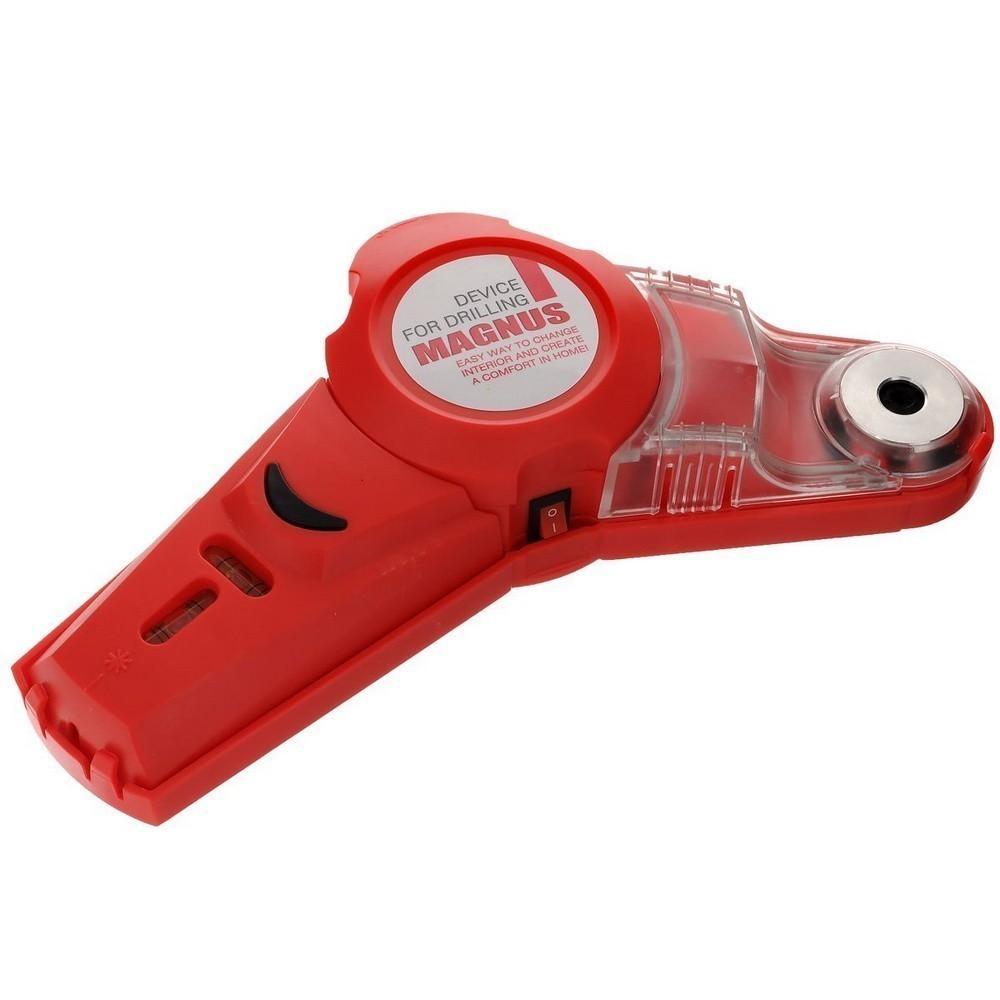 Приспособление для сверления - Магнус, Drill LaserОстальные инструменты<br>Если вы часто сталкиваетесь с мелким ремонтом, то точно нуждаетесь в таком помощнике, как приспособление для сверления Магнус, Drill Laser. Теперь вам не придется затрачивать уйму времени и сил на выравнивание уровня, сверление отверстий и уборку пыли после проделанной работы. Все вышеуказанные проблемы легко и быстро решит Магнус!<br>