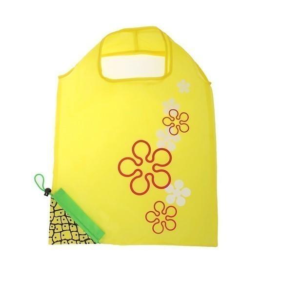 Сумка складная АнанасСкладная сумка оригинального дизайна понравится любой женщине, девушке. С такой сумкой удобно ходить в магазин за покупками, на пляж.<br>