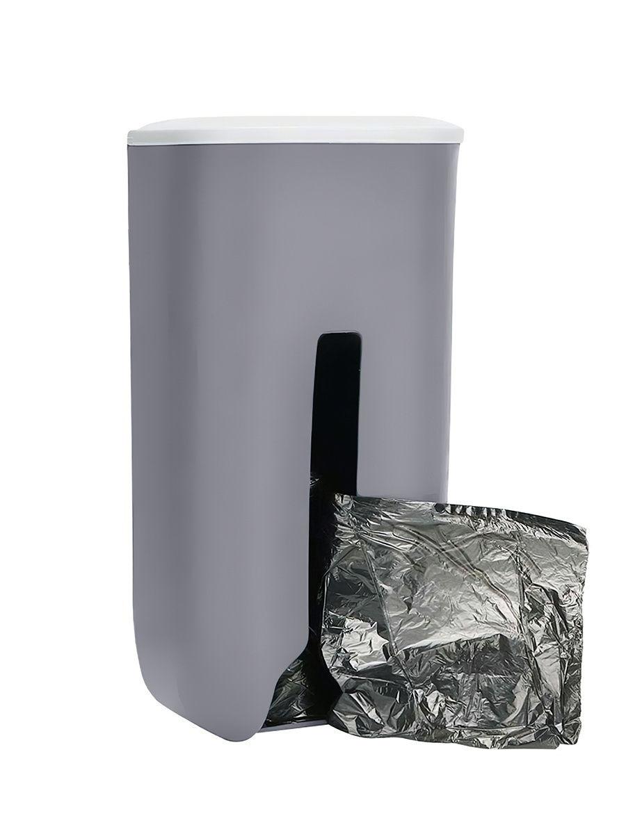Подвесная корзина для компактного хранения пакетов, серый