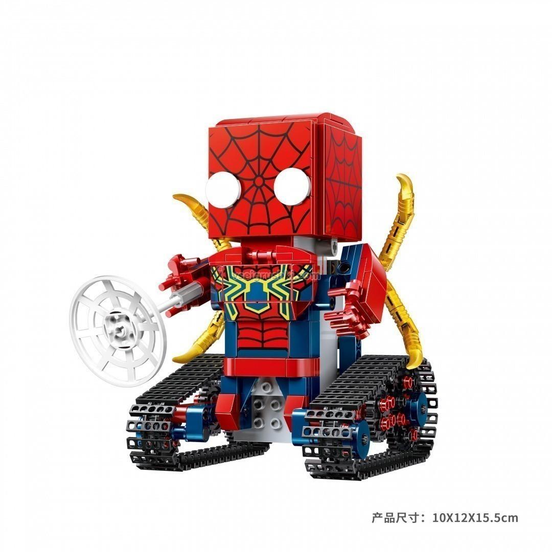 Купить Конструктор робот на радиоуправлении Technic Walking Brick - Spider-Block Man, Конструкторы