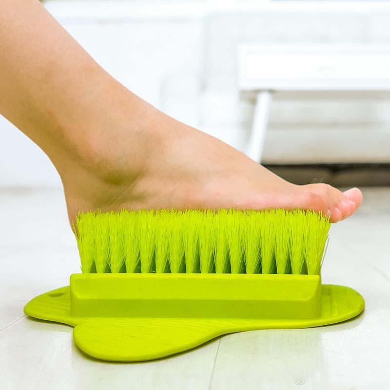 Щётка для ног на присосках Foot BrushМассажные мочалки<br>Щётка для ног на присосках Foot Brush станет настоящей находкой для людей, которые чувствуют усталость и бессилие в конце рабочего дня. Изделие позаботится о чистоте ног, а также обеспечит приятный массаж!<br>