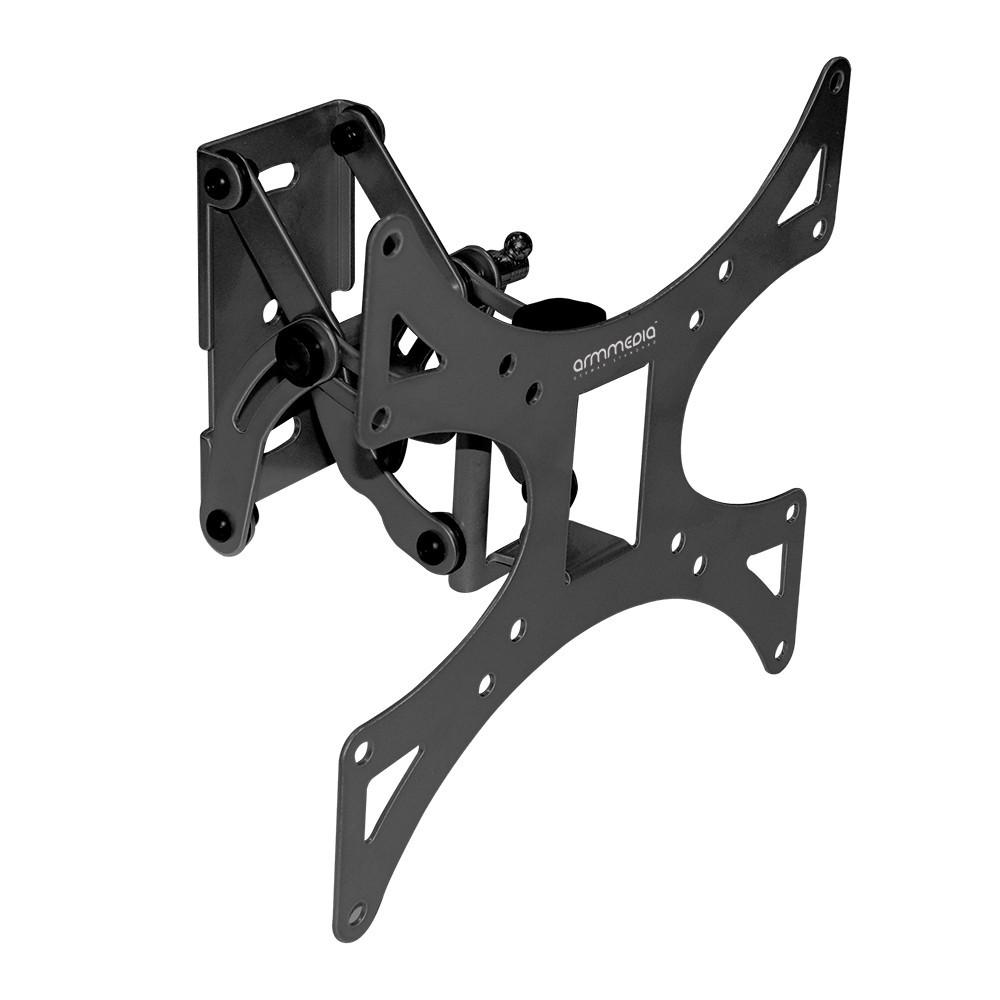 Кронштейн arm media 301-LCD blackКронштейны<br>Наклонно-поворотный настенный кронштейн для ТВ с диагональю 15».40», весом до 30 кг.<br>