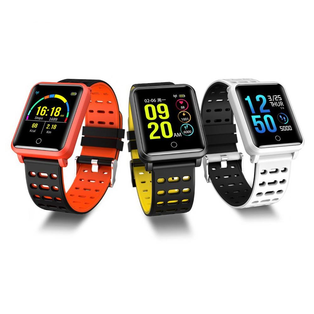 Умные часы Smart Watch N88, цвет в ассортименте, Оранжевый