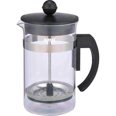 Чайник заварочный/кофейный 0,6л DeLuxe Bekker BK-389Чайники заварочные и френч-прессы<br>