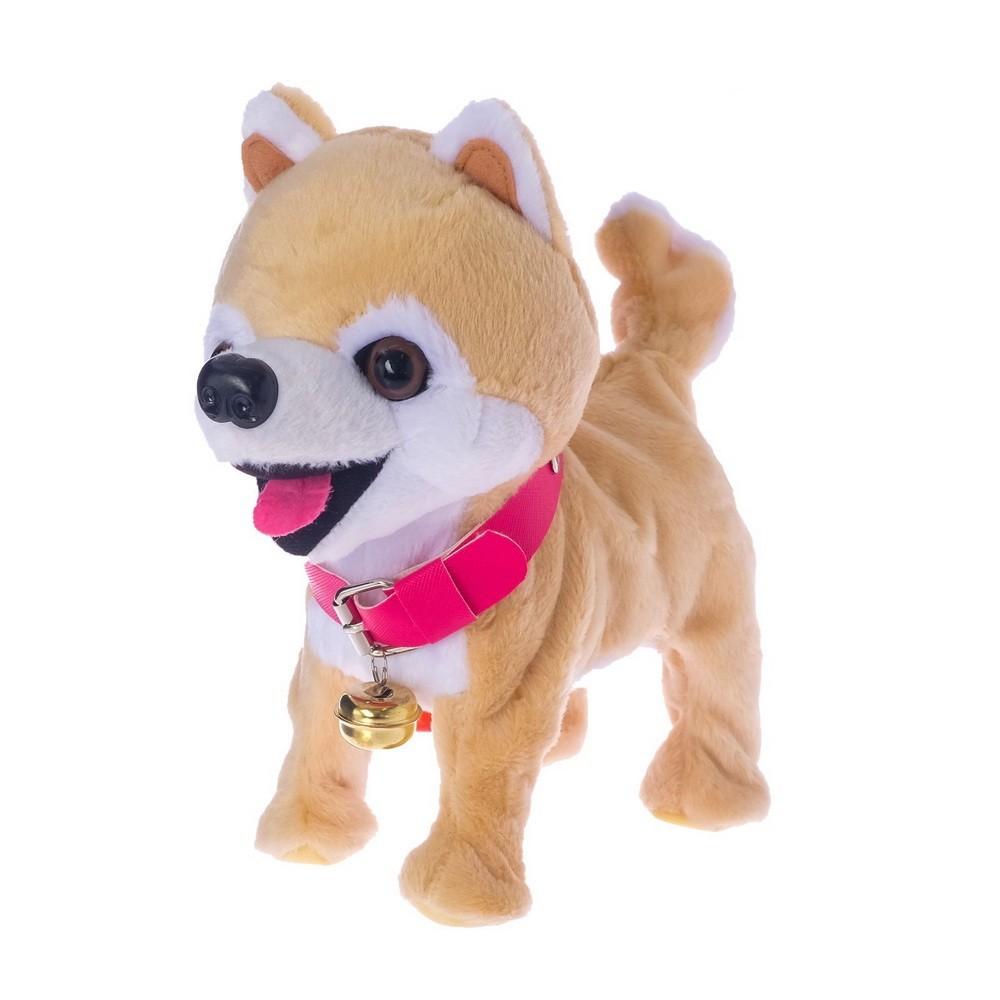 Интерактивная собака - Любимый щенок-1, ходит, лает, поет песенку, виляет хвостом