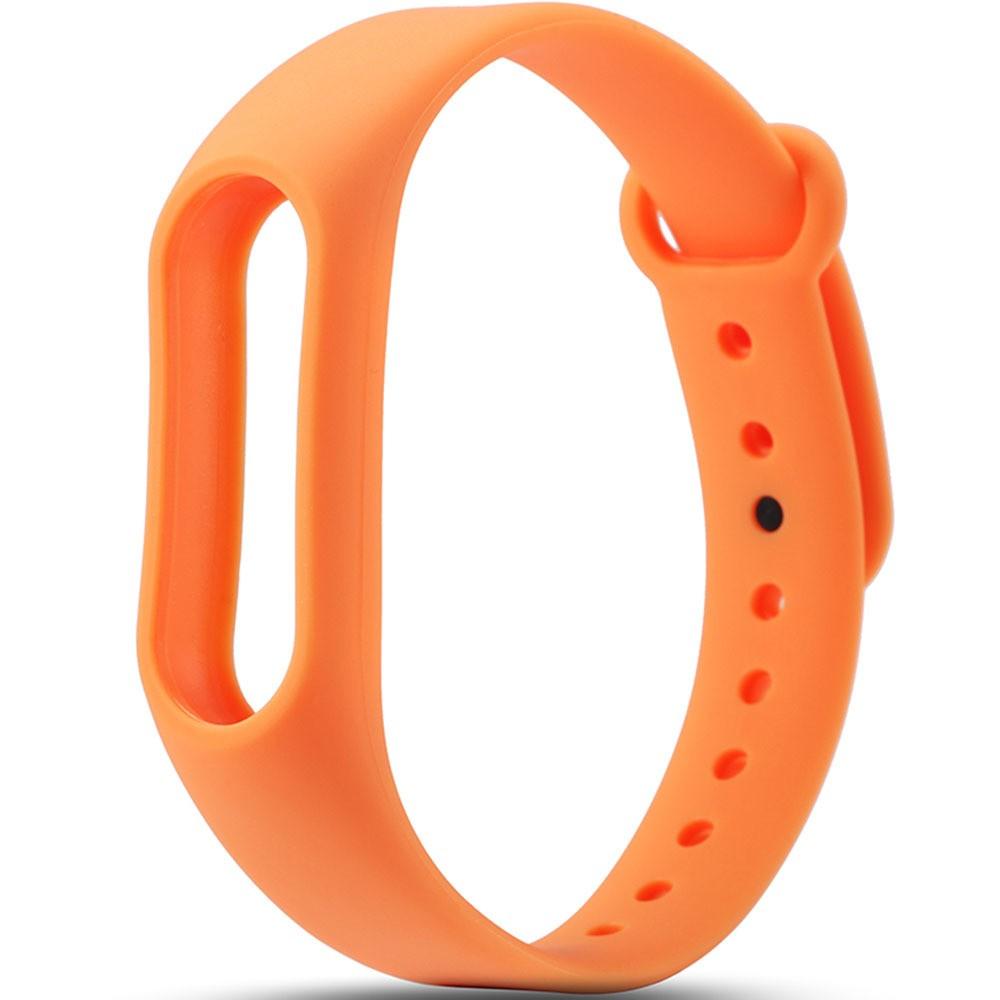 Браслет для фитнес трекера, оранжевыйШагомеры и фитнес браслеты<br>Тщательно следите за своими достижениями в спорте? Фиксируете  количество пройденных шагов и сожженных калорий в фитнес трекере? Если вам немного наскучил стандартный черный ремешок аксессуара, который вы носите с собой повсюду, то поможет новый силиконовый браслет понравившегося цвета по привлекательной цене!<br>