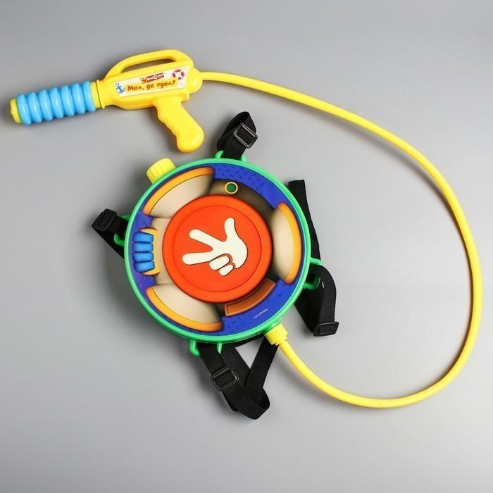 Купить Водный ранец с пистолетом - Фиксики, Игрушки для мальчиков