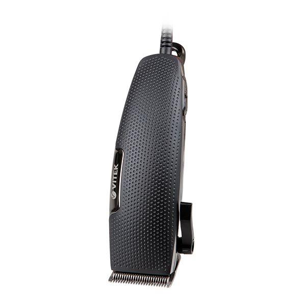 Набор для стрижки Vitek (питание от сети) VT-2520(BK)Машинки для стрижки<br>Создавать стильные мужские стрижки теперь вы можете и дома. Машинка стрижки Vitek VT-2520 BK станет в этом деле настоящим помощников. Четыре насадки позволят вам выбрать подходящую в зависимости от длины волос, которой вы хотите добиться.<br>