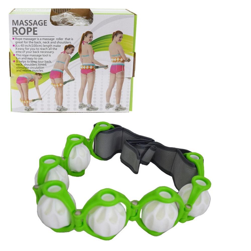 Роликовый ручной массажер-лента Massage Rope HX-8866, , Массажеры