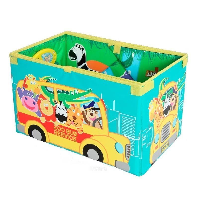 Музыкальный коврик-коробка — Зоопарк, Foldable Music Storage Box