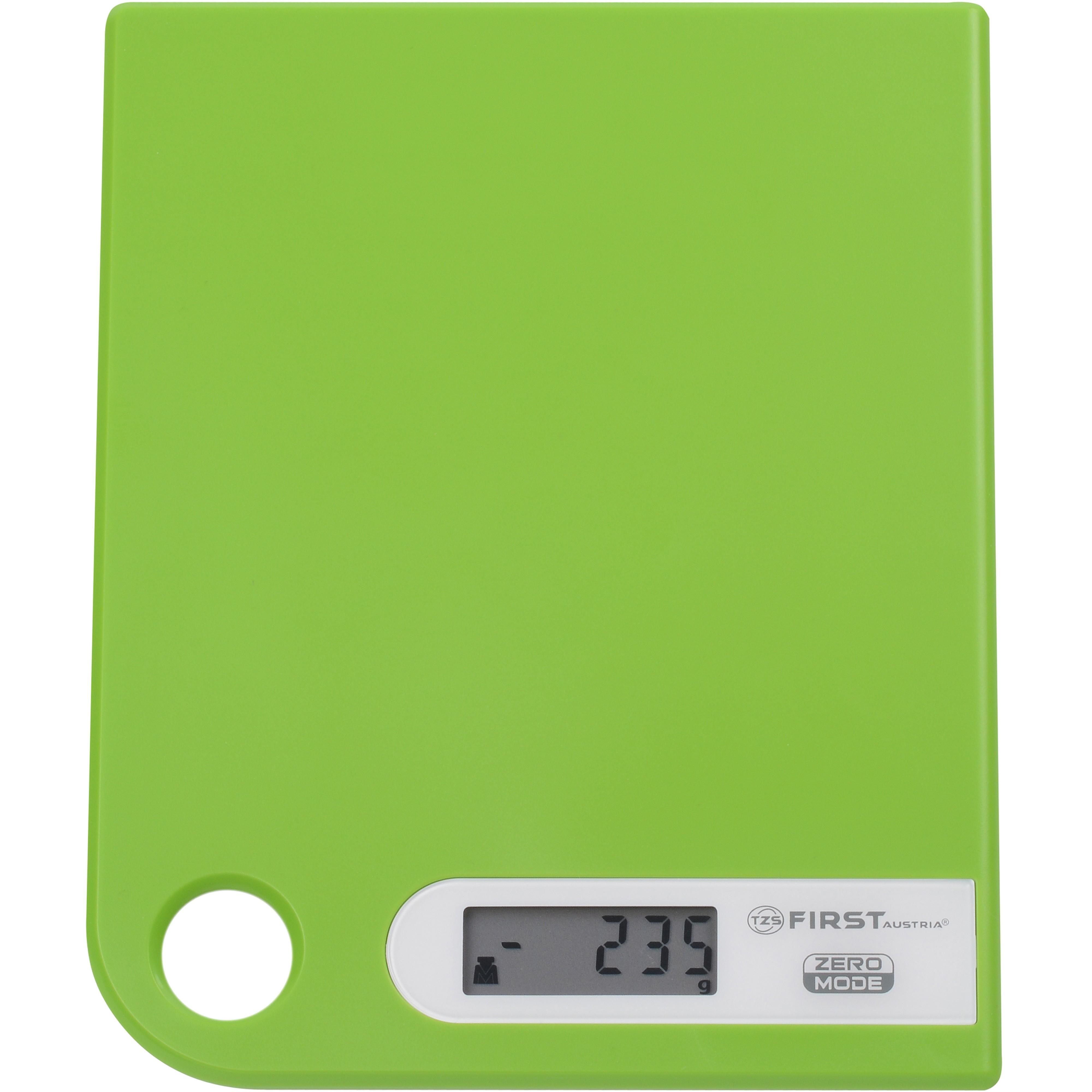 Весы кухонные FIRST 6401-1 green