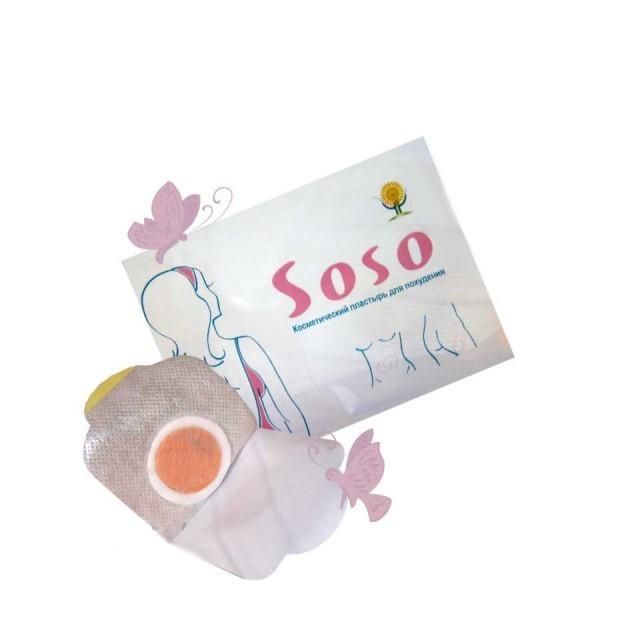Китайский пластырь для похудения Soso от MELEON