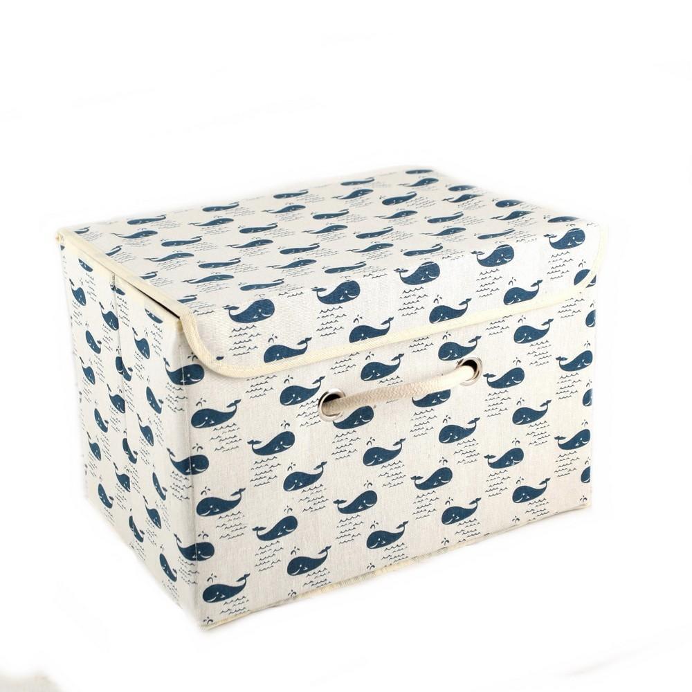Короб для хранения — Киты, с крышкой 25...