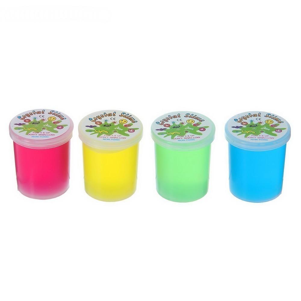 Лизун - Баночка, твёрдый, цвета МиксИгрушки Антистресс<br>Твердый лизун «Баночка» (цвета микс) – это антистресс игрушка, которая пользуется огромной популярностью у современных детей.<br>