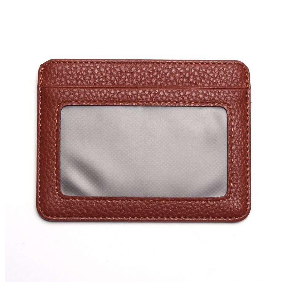 Baellerry тонкий кошелек для карт и пропуска, коричневый от MELEON