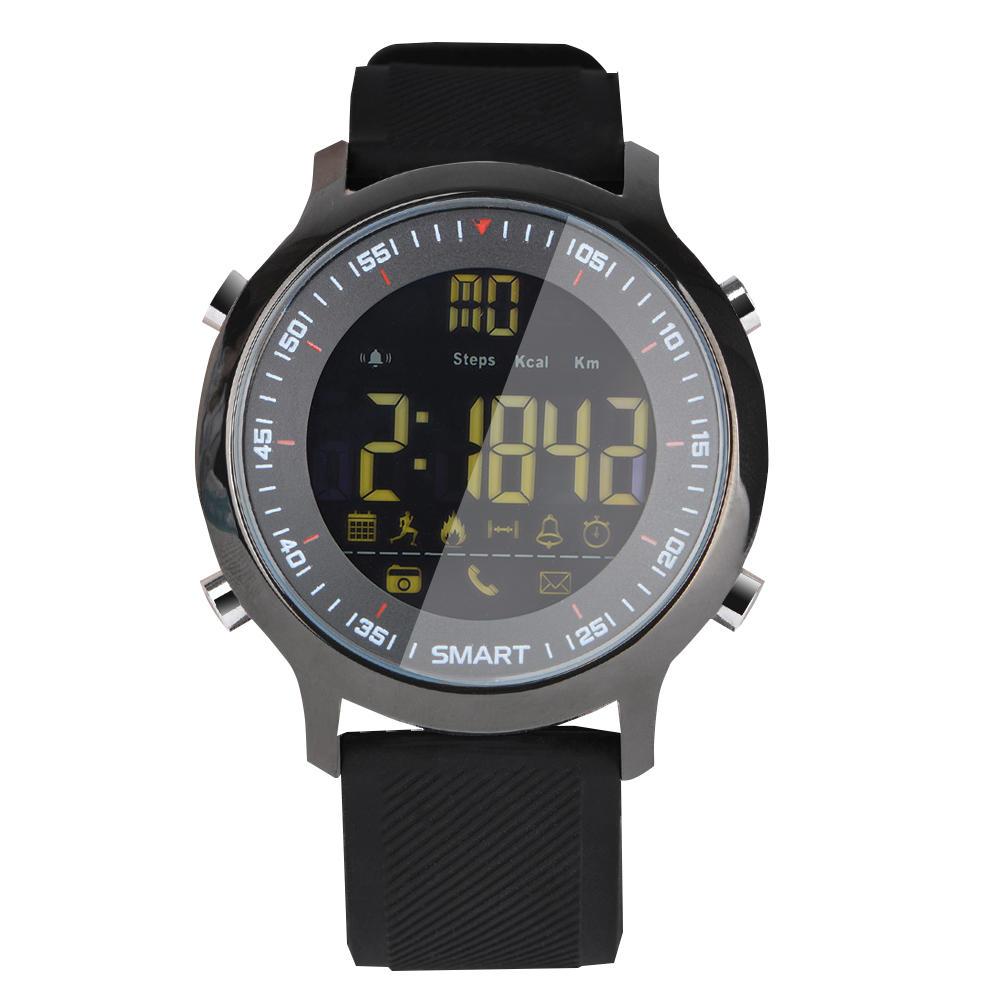 Умные часы xwatch EX18 силикон, черный