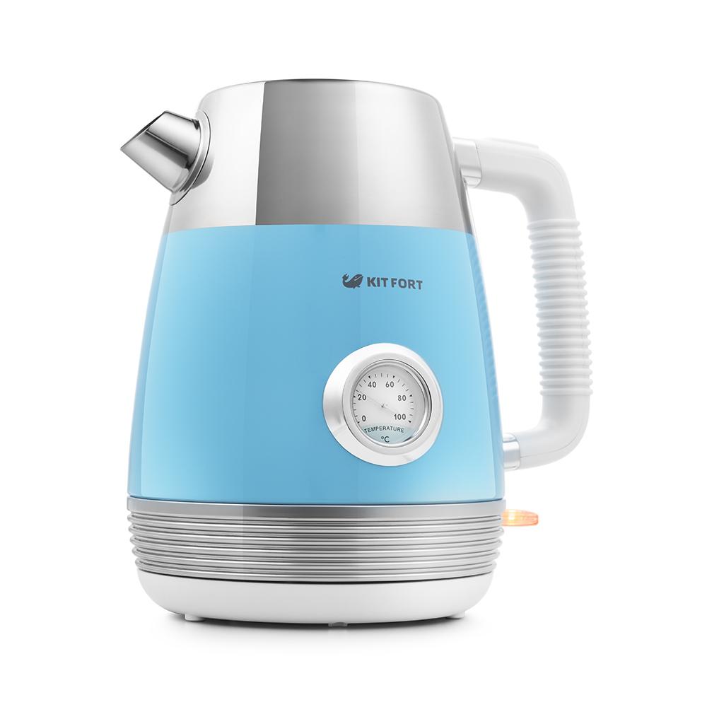 Чайник Kitfort КТ-633-4, голубой