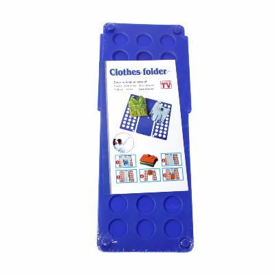 Рамка для складывания детской одежды Star Fold, синийВсё для сушки<br>Рамка для складывания детской одежды Star Fold – это настоящая находка для тех людей, которые хотят, чтобы вещи были сложены так же аккуратно, как в магазине. Благодаря этому простому аксессуару, вам удастся и грамотно сэкономить место в шкафу!<br>