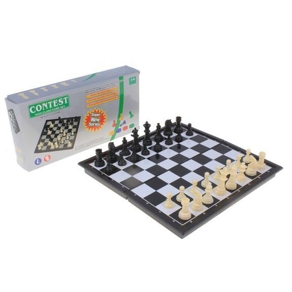 Игра настольная, Шахматы в коробкеНастольные игры<br>Шахматы появились задолго до прочих игрушек и, возможно, останутся еще долго после них. Есть в них что-то вечное, фундаментальное.<br>