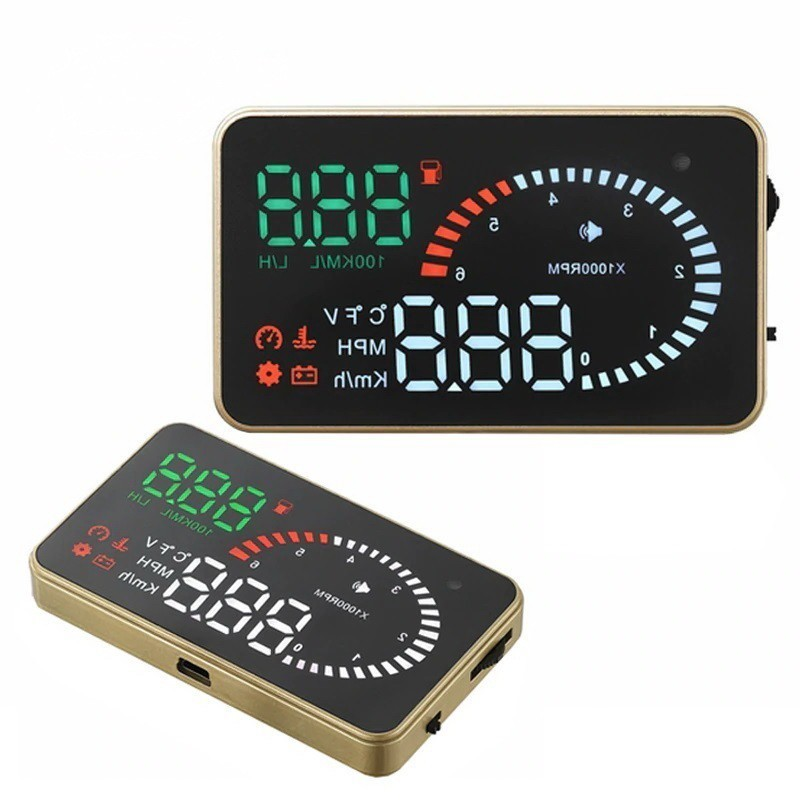 HUD проектор скорости на лобовое стекло — X6