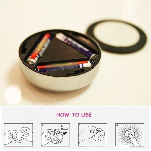 Светодиодные светильники на батарейках Stick and Click (Светлячки) от MELEON