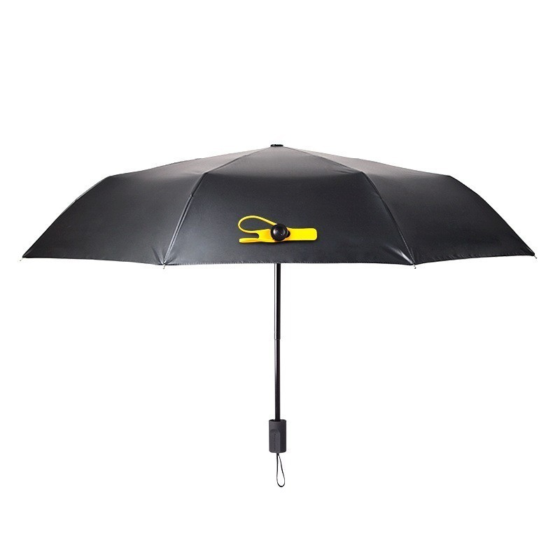 Мини зонт Black Lemon, зеленый