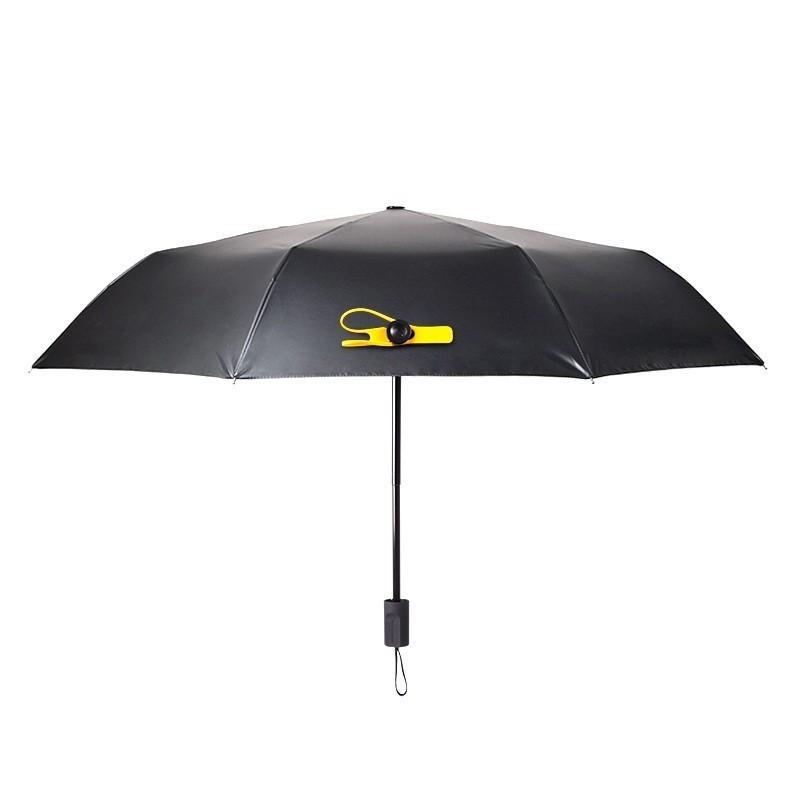 Мини зонт Black Lemon, синийЗонты<br>В вашем регионе главенствует капризная и изменчивая погода? Надоело повсюду таскать с собой неудобные и громоздкие зонты? Предлагаем вам знакомство с удивительным аксессуаром. Это - мини зонт Black Lemon, который спасет вас в любую погоду, подчеркнет чувство стиля и обеспечит максимум комфорта!<br>
